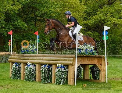 Holly Woodhead and SCUDERIA 1918 FUTURE, Fairfax & Favor Rockingham Horse Trials 2019.