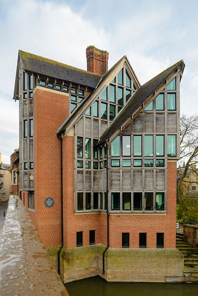 The Jerwood Library in Cambridge, Cambridgeshire, England, UK