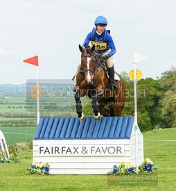 Emilie Chandler and CLEMENTINE DE BRENNE, Fairfax & Favor Rockingham Horse Trials 2019.