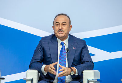 Mevlüt Çavuşoğlu, Turkish Minister of Foreign Affairs