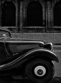 The Citroën Traction Avant, Paris.