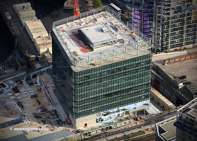 101 Embankment, Manchester   aerial photograph