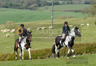 At Stone Lodge Farm. Cottesmore Fun Ride, April 2019