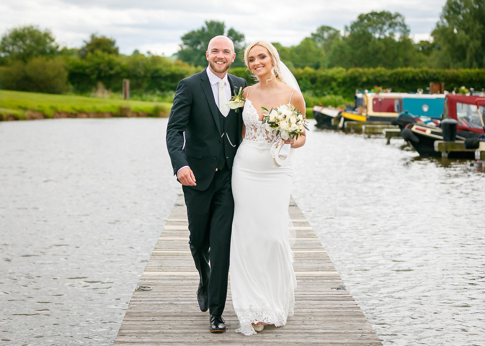 Wedding at Aston Marina, Stone, Staffordshire, UK