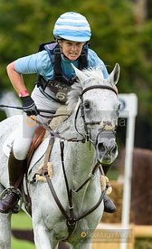 Jonelle Price and FAERIE DIANIMO - Cross Country - Land Rover Burghley Horse Trials 2019