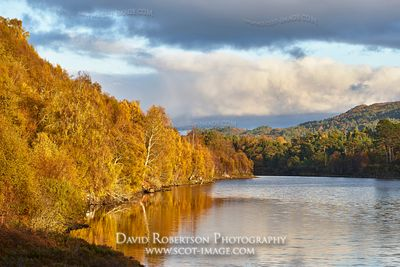 Image - Loch Affric and autumn colours, Glen Affric, Inverness, Highland, Scotland