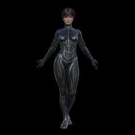 Female Exo-Suit