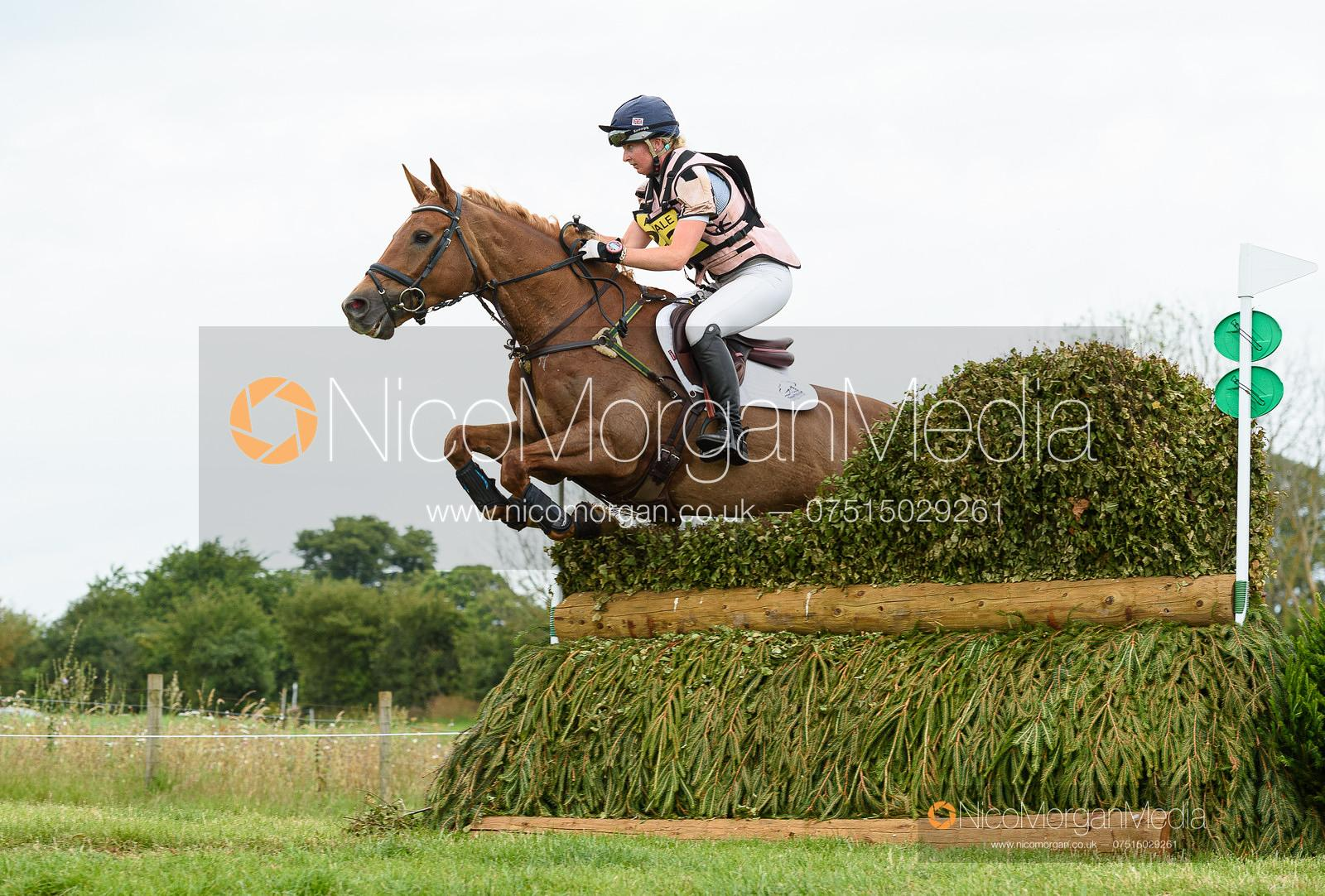 Georgie Spence and HALLTOWN HARLEY - Upton House Horse Trials 2019.