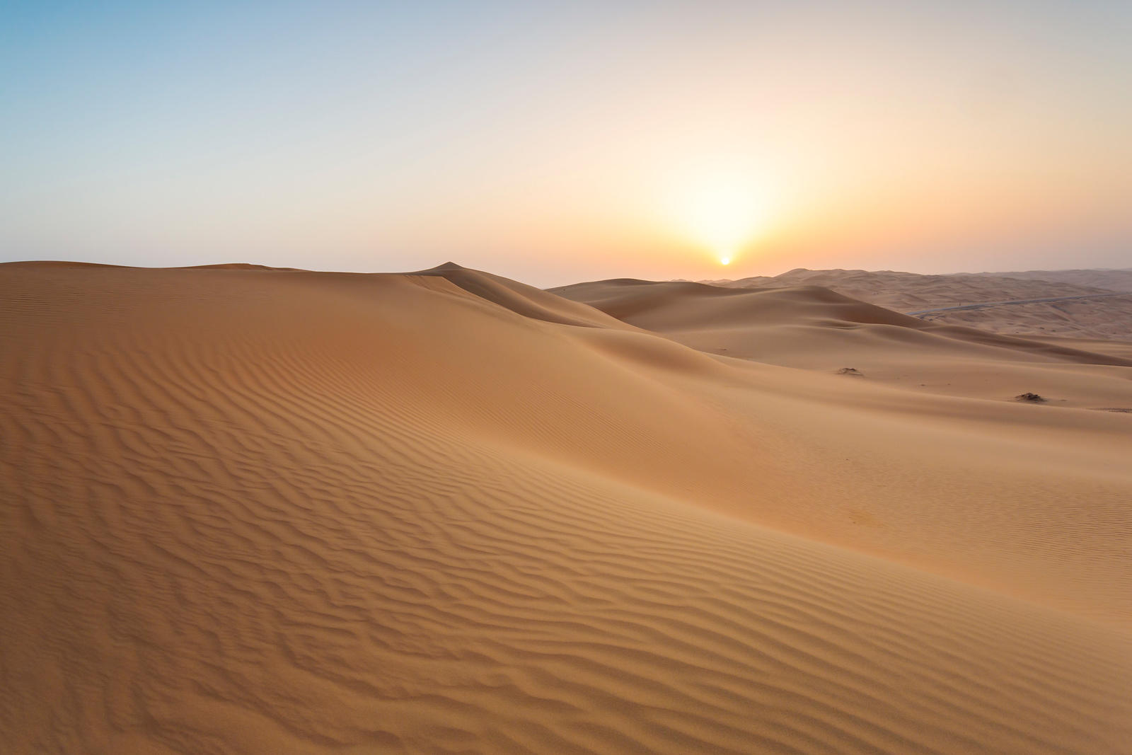 Last Light on the Empty Quarter
