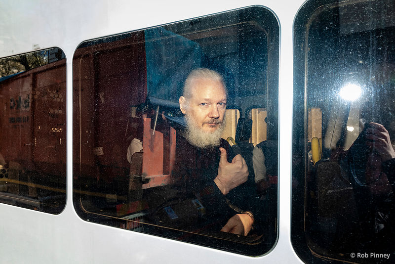 Julian Assange Arrested
