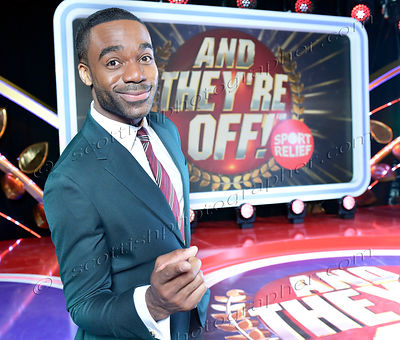 TV Game Show And They're Off, BBC Scotland, presenter, Ore Oduba