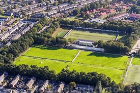 Luchtfoto Voetbalclub DVS'33 Ermelo