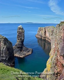 Image - The Soldier's Rock sea stack, near Kintra, Isle of Islay, Argyll, Scotland.