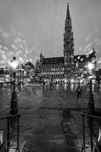 Brussels in Black and White