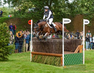 Julia Norman and CARRYON BOBBY BOY - Cross Country - Land Rover Burghley Horse Trials 2019