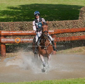 Georgie Spence and Running Brook II - Land Rover Burghley Horse Trials 2009