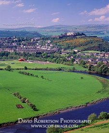 Image - View of Stirling City and River Forth, Scotland