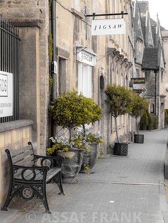 Old buildings in Tetbury town, Cotswolds