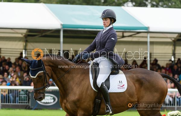Lillian Heard and LCC BARNABY - Dressage - Land Rover Burghley Horse Trials 2019