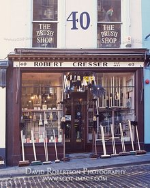 Image - Robert Cresser's Brush Shop, Victoria Street, Edinburgh