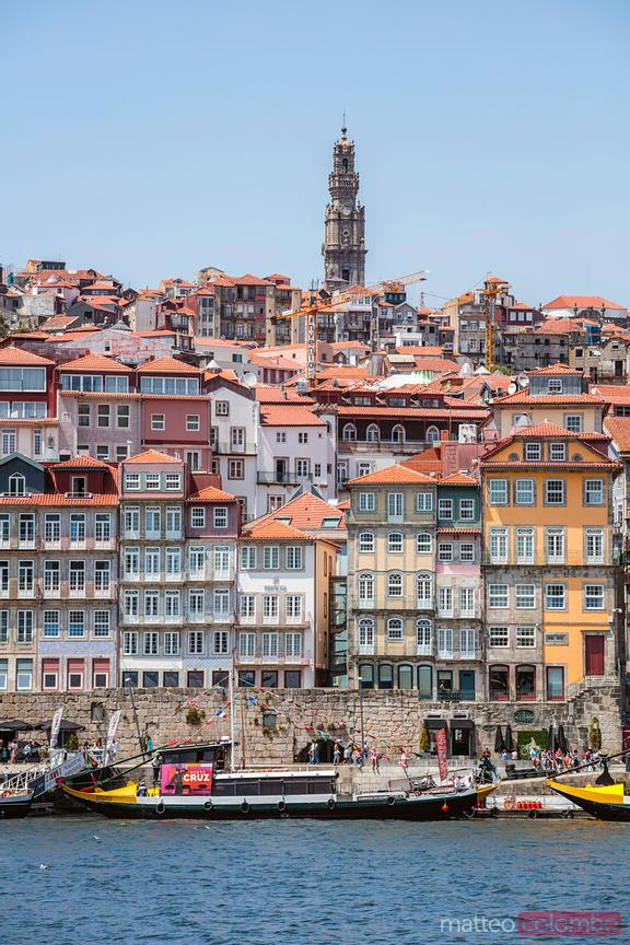 Ribeira district at daytime, Porto, Portugal