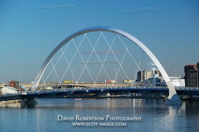 Image - River Clyde, Clyde Arc, Squinty Bridge, Glasgow.