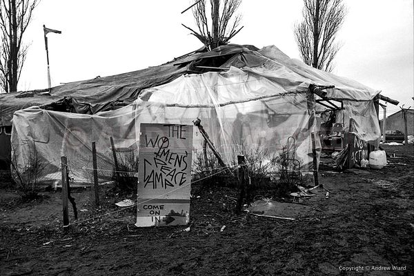GREENHAM COMMON PEACE CAMP, FEBRUARY 1982