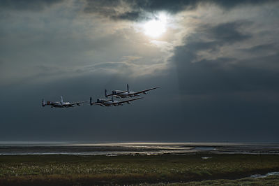 Dambusters training over the Wash
