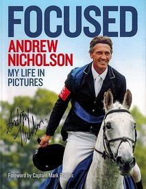 Cover image for Andrew Nicholson's book Focused