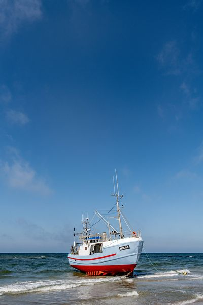 Fishing boats, Thorup Strand 17