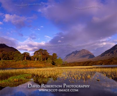 Image - Liathach and Loch Clair, Torridon, Scotland, Mountain