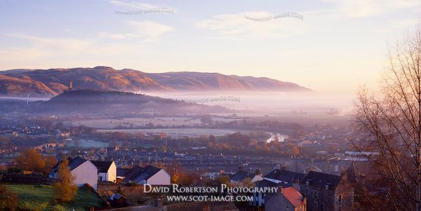 Image - Stirling Cityscape, Autumn Panoramic
