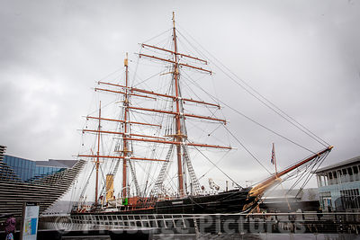 RRS Discovery - Captain Scott's Antarctic research ship on show to the public in Dundee