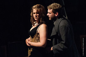 #72249,  Dress Rehearsal for Shakespeare's, 'Macbeth', Rose Bruford College, Sidcup, Kent.