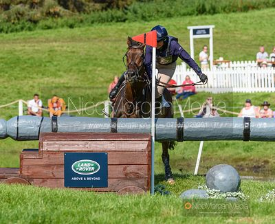 Phoebe Buckley and TIGER MAIL, Blair Castle International Horse Trials 2019