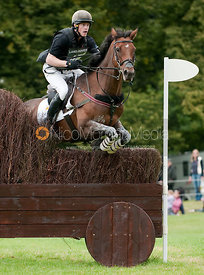 Angus Smales and Cornsay Grouse at Burghley Horse Trials 2009 - Land Rover Burghley Horse Trials 2009