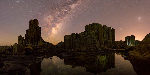 Milkyway Rising over Quarry