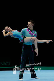 AG 12-18 Mixed Pair Belarus - Dynamic