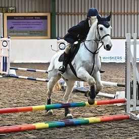 19/01/2020 - Class 2 - Unaffiliated showjumping - Brook Farm training centre