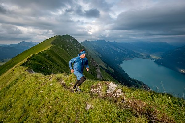 Trail running in Interlaken