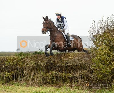 Willa Newton and FRECKLETON MYTHAGO - Oasby (2) Horse Trials 2020