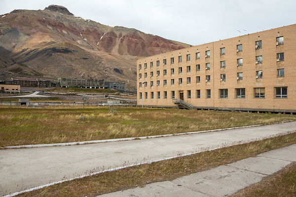 Appartments With View On Pyramiden Mountain