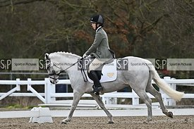 Essex Hunt North Pony Club dressage. Stapleford Abbotts. United Kingdom MANDATORY Credit Garry Bowden/Sport in Pictures - NO ...