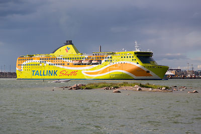 Tallink Shuttle Superstar laiva.|||Tallink Shuttle Superstar boat