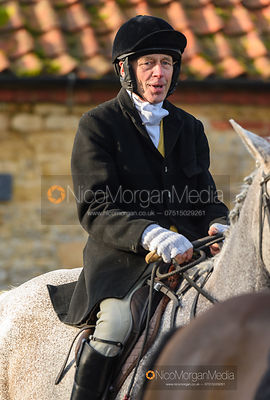 At the meet. The Belvoir Hunt at Stonesby 5/2
