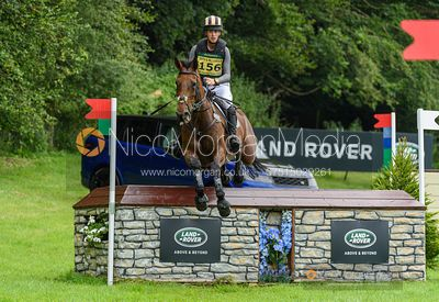 Tom Rowland and VERY GOOD TEMPO, Festival Of British Eventing 2019
