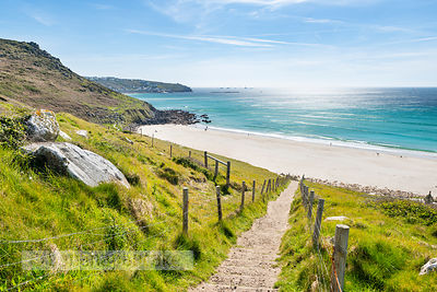 Gwynver (Gwenver) Beach, near Sennen, Cornwall - BP6747