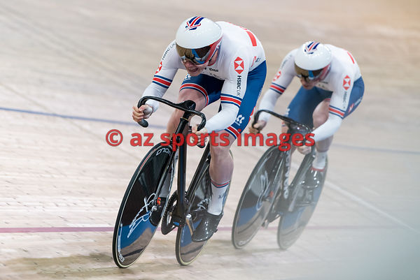 Men 's Team Sprint finals - Great Britain - OWENS Ryan, CARLIN Jack, KENNY Jason