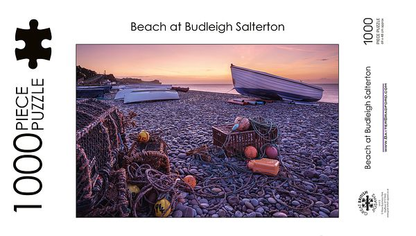 Beach at Budleigh Salterton