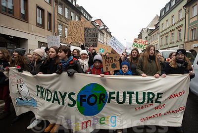 Friday for Future in Bamberg